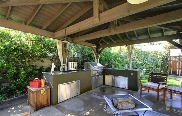 1921 bungalow s summer ready outdoor kitchen soulful abode for Ready made outdoor kitchen