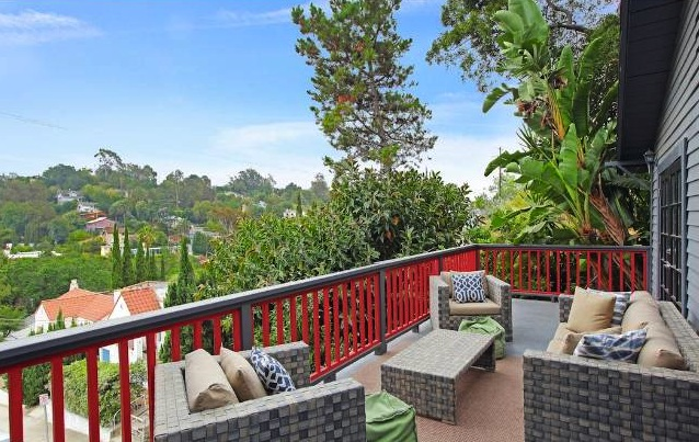 1923 silver lake bungalow is an urban oasis soulful abode for 2242 fair oak view terrace