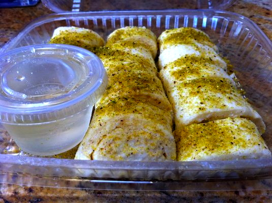 Panos' addicting cheese-based dumplings of joy