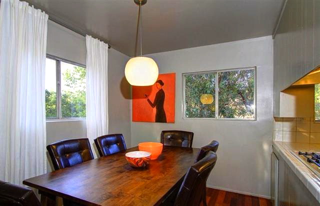 Dining room with views