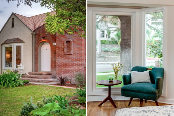 Vintage details and picture window