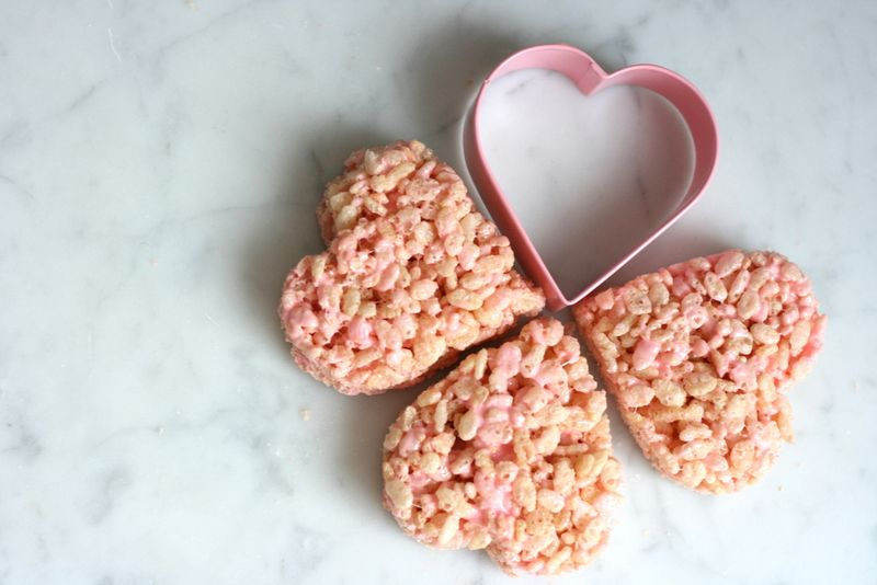 Rice Krispy DIY: Sweets for your sweetie
