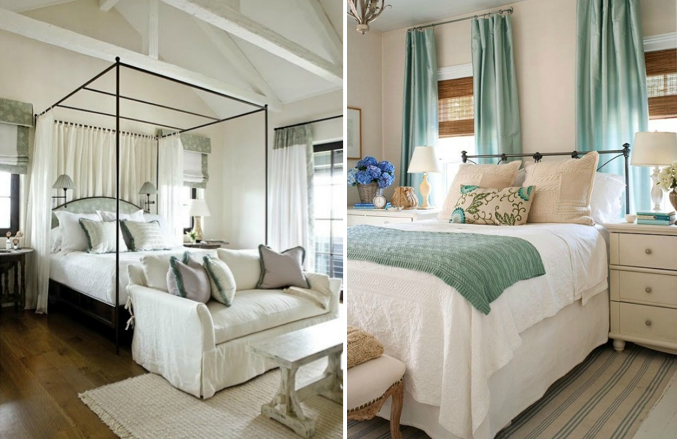 Beachy bedrooms: Light, bright and airy