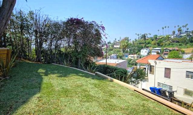 Yard with views