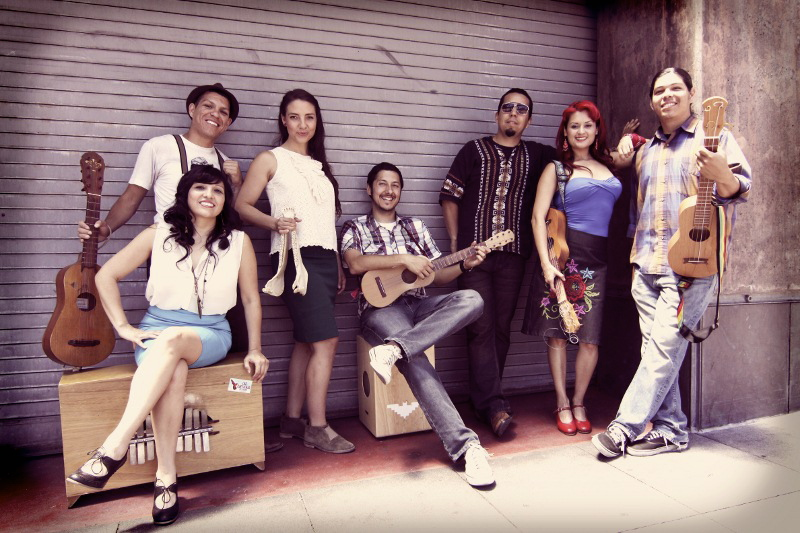 Las Cafeteras: Native sons & daughters of L.A.'s Eastside
