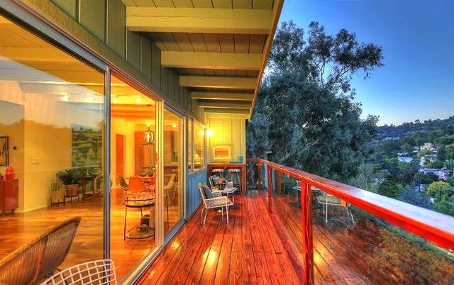 Balcony with views. Courtesy of Matthew Morgus – Sotheby's Los Feliz