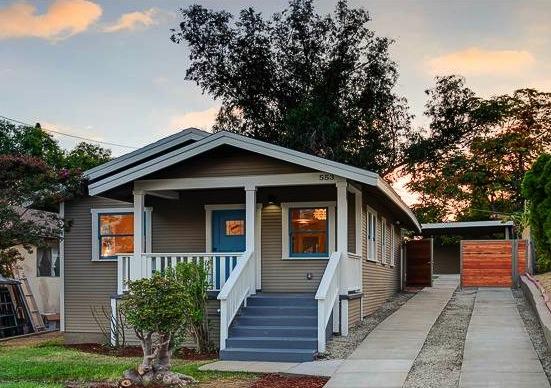 1922 California Bungalow: 553 Meridian Terrace, Los Angeles, 90042