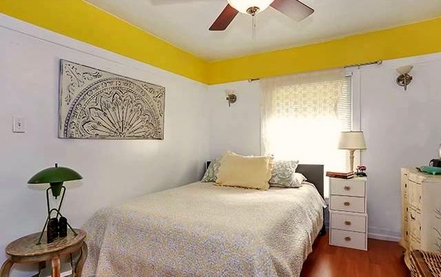 Rear house bedroom