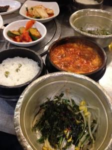 #1 rated soondubu in Seoul...not as tasty as L.A.