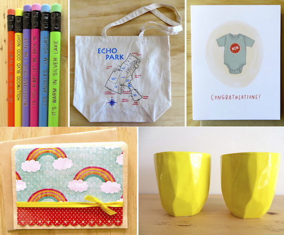 Curated goodies from Silver Lake's Los Angeles County Store