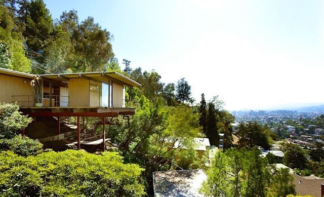 Perched high in the hill with sweeping views
